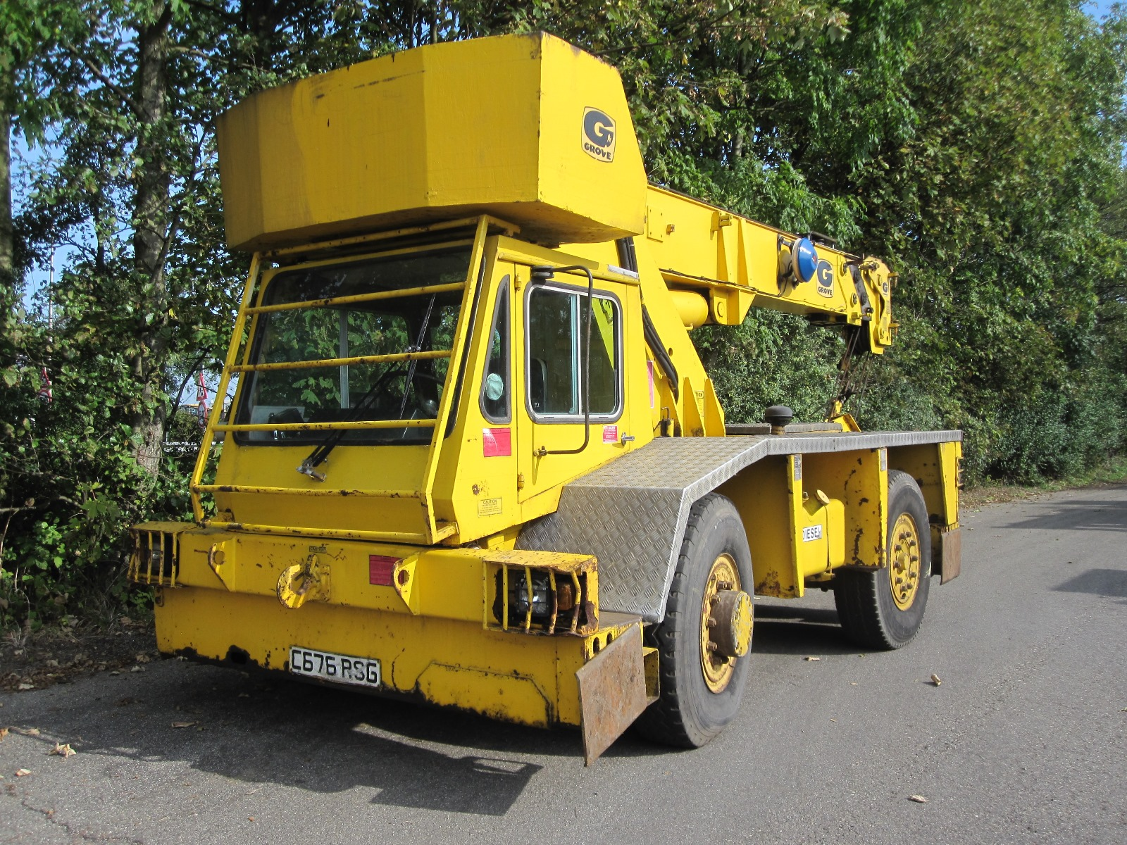 Mobile Crane / All Terrain Crane Grove