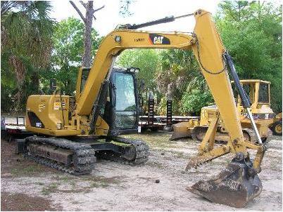 Track excavator Caterpillar