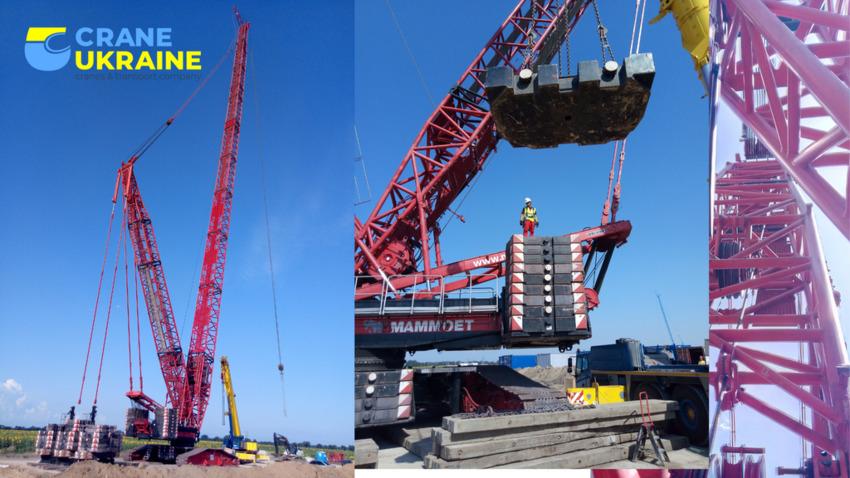 Mobile Crane / All Terrain Crane Liebherr